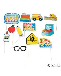 Back-to-school Photo Stick Props