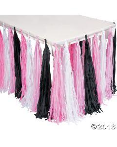 Ballerina Party Fringe Table Skirt