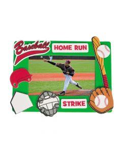 Baseball Picture Frame Magnet Craft Kit