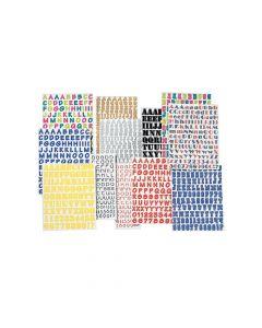 Basic Alphabet Sticker Pack