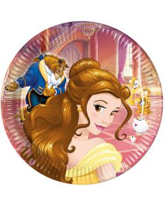 Beauty and the Beast Lunch Plate