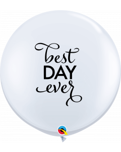 Best Day Ever Round Latex Balloon