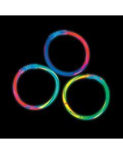 Bi-Color Glow Swizzle Bracelets