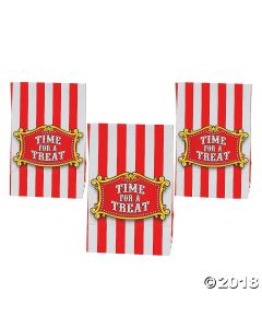 Big Top Mini Treat Bags with Tape