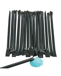 Black Candy-Filled Straws