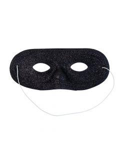 Black Glitter Masks