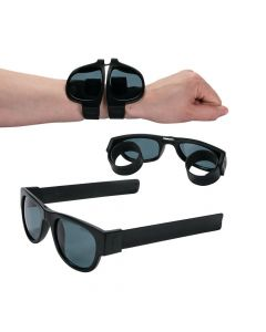 Black Nomad Slap Bracelet Sunglasses