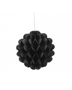 Black Tissue Paper Balls