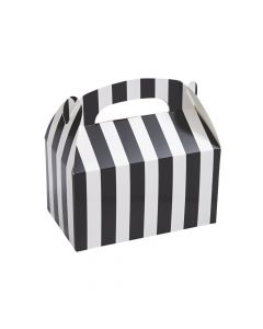 Black and White Striped Favor Boxes