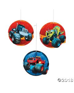 Blaze and the Monster Machines Honeycomb Decor
