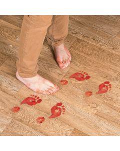 Bloody Footprints Floor Decals