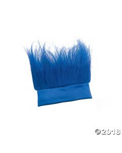Blue Crazy Hair Headband