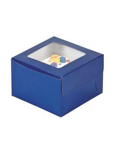 Blue Cupcake Boxes