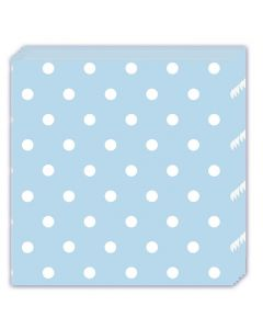 Blue Dots Lunch Napkin