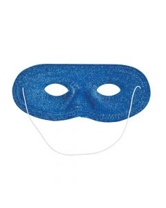 Blue Glitter Masks
