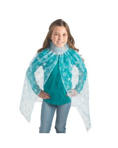 Blue Ice Princess Cape