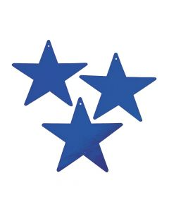 Blue Medium Metallic Stars