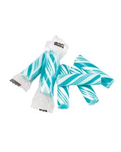 Blue Mini Hard Candy Sticks