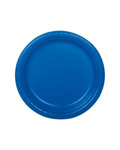 Blue Plastic Dinner Plates
