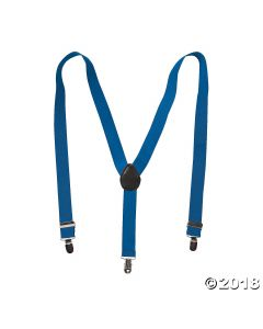 Blue Team Spirit Suspenders