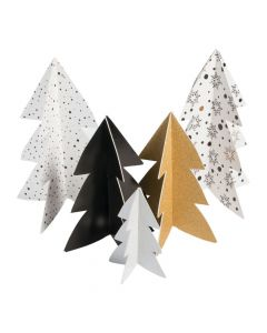 Bold Christmas Tree Centerpieces