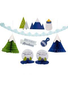 Born to Move Mountains Decorating Kit