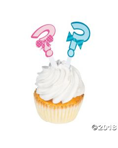 Bow or Bow Tie Cupcake Toppers
