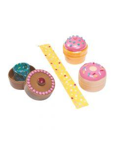 Bracelet-Filled Plastic Donut Easter Eggs - 12 Pc.