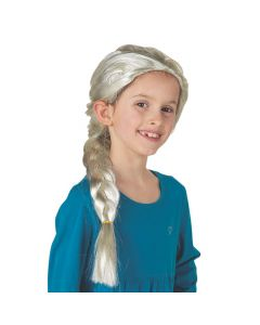 Braided Winter Princess Wig