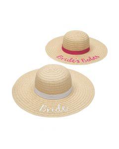Bridal Party Sun Hats
