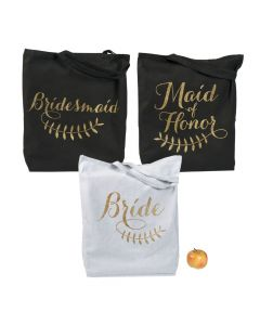 Bridal Party Tote Gift Set
