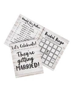 Bridal Shower 3-Game Pack for 24
