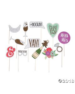 Bridal Shower Photo Stick Props