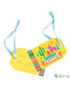 Bright Fiesta Favor Tags