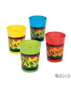 Bright Fiesta Plastic Cups