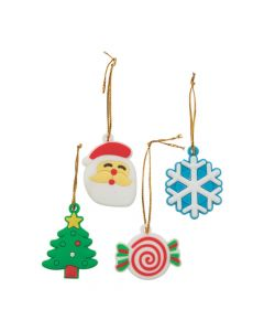 Bright Holiday Ornaments