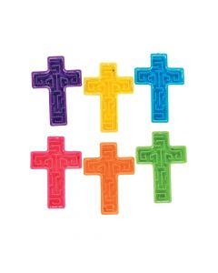 Bright Mini Cross Maze Puzzles