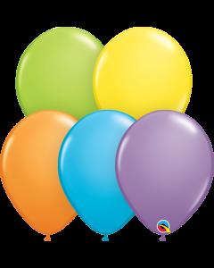 Bright Pastel Assorted 28cm Round Latex Balloon