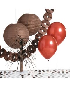 Brown Party Decorating Kit