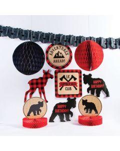 Buffalo Plaid Birthday D�cor Kit