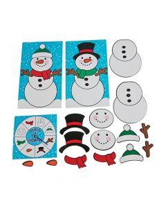 Build a Snowman Board Game