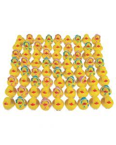 Bulk Baby Shower Rubber Duckies - 72 Pc.