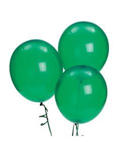 "Bulk Emerald Green 11"" Latex Balloons"