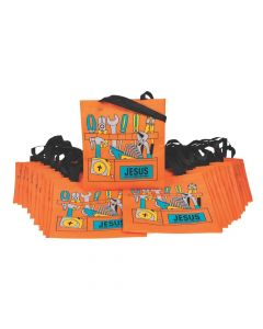 Bulk Large Construction VBS Toolbox Tote Bags