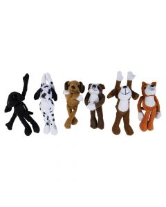 Bulk Long Arm Stuffed Dogs - 72 Pc.