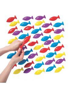 Bulk Religious Fish Flingers - 48 Pc.