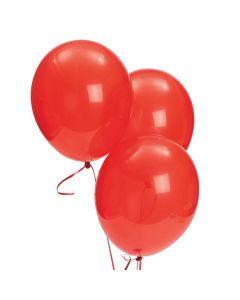 "Bulk Ruby Red 11"" Latex Balloons"