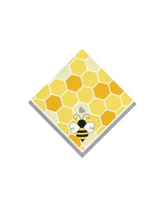 Bumblebee Party Beverage Napkins