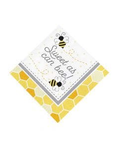 Bumblebee Party Luncheon Napkins