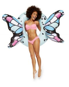 Butterfly Blue Wings Inflatable Pool Float